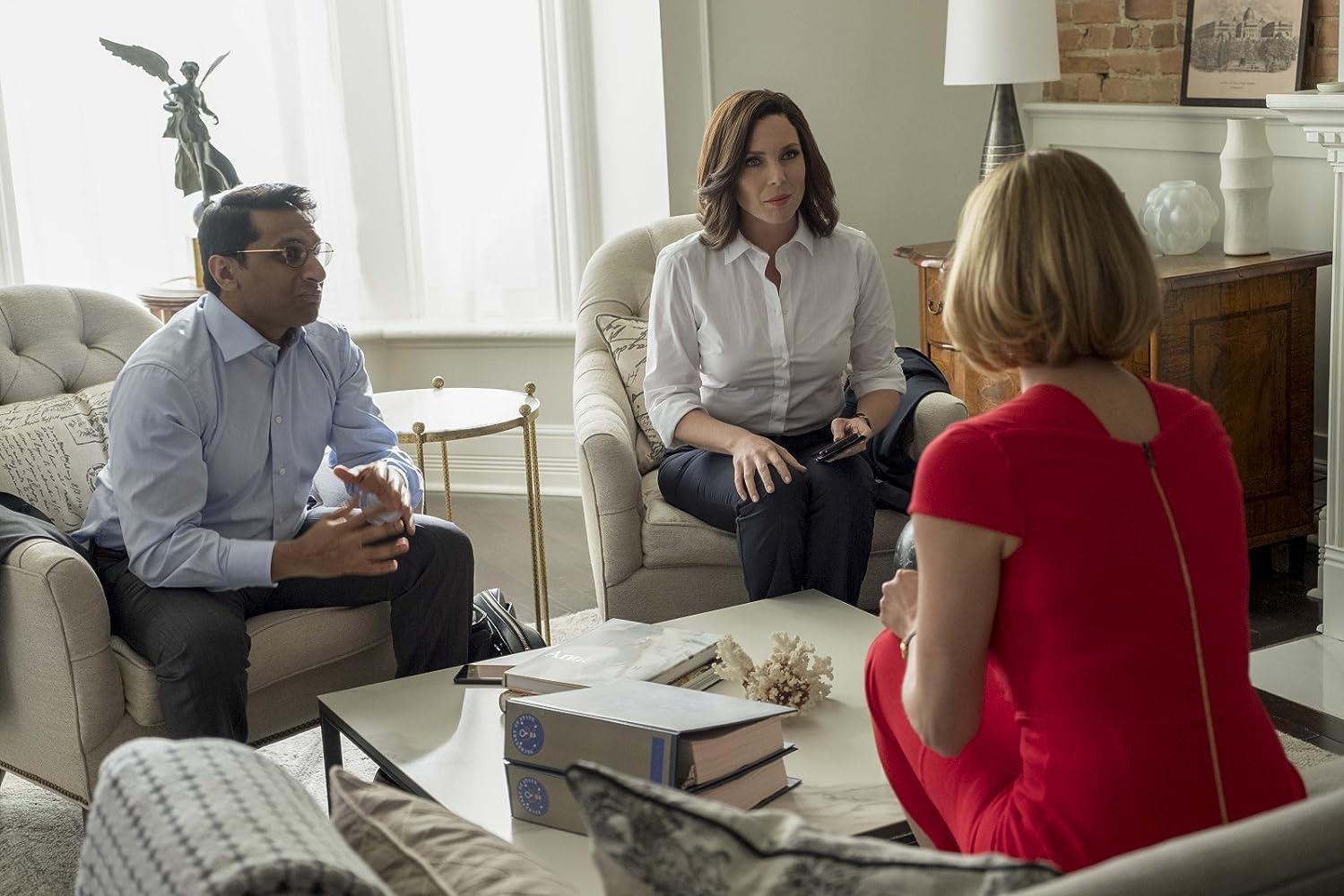 Charlize Theron, June Diane Raphael, and Ravi Patel in Long Shot (2019)