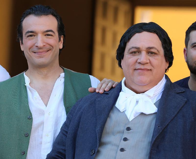 Bruno Praticò and Simone Alberghini in Il Ritorno del Cigno (2014)
