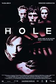 Thora Birch, Desmond Harrington, Laurence Fox, and Keira Knightley in The Hole (2001)