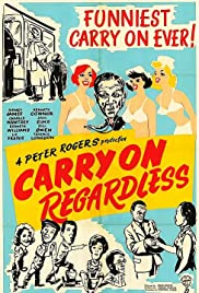 Carry On Regardless Poster