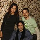 Carlos Bolado, Alice Braga, and Diego Luna at an event for Sólo Dios sabe (2006)