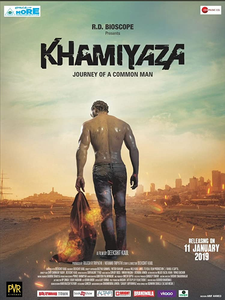 Khamiyaza Journey of a Common Man 2019 Hindi 720p HDRip 800MB