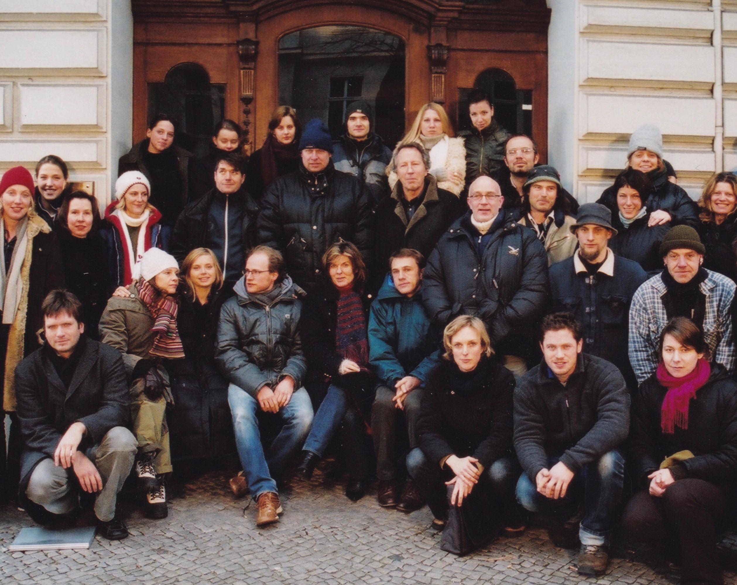 Hartmut Becker, Gunnar Fuss, Stefan Krohmer, Christoph Waltz, and Nina Weniger in Scheidungsopfer Mann (2004)