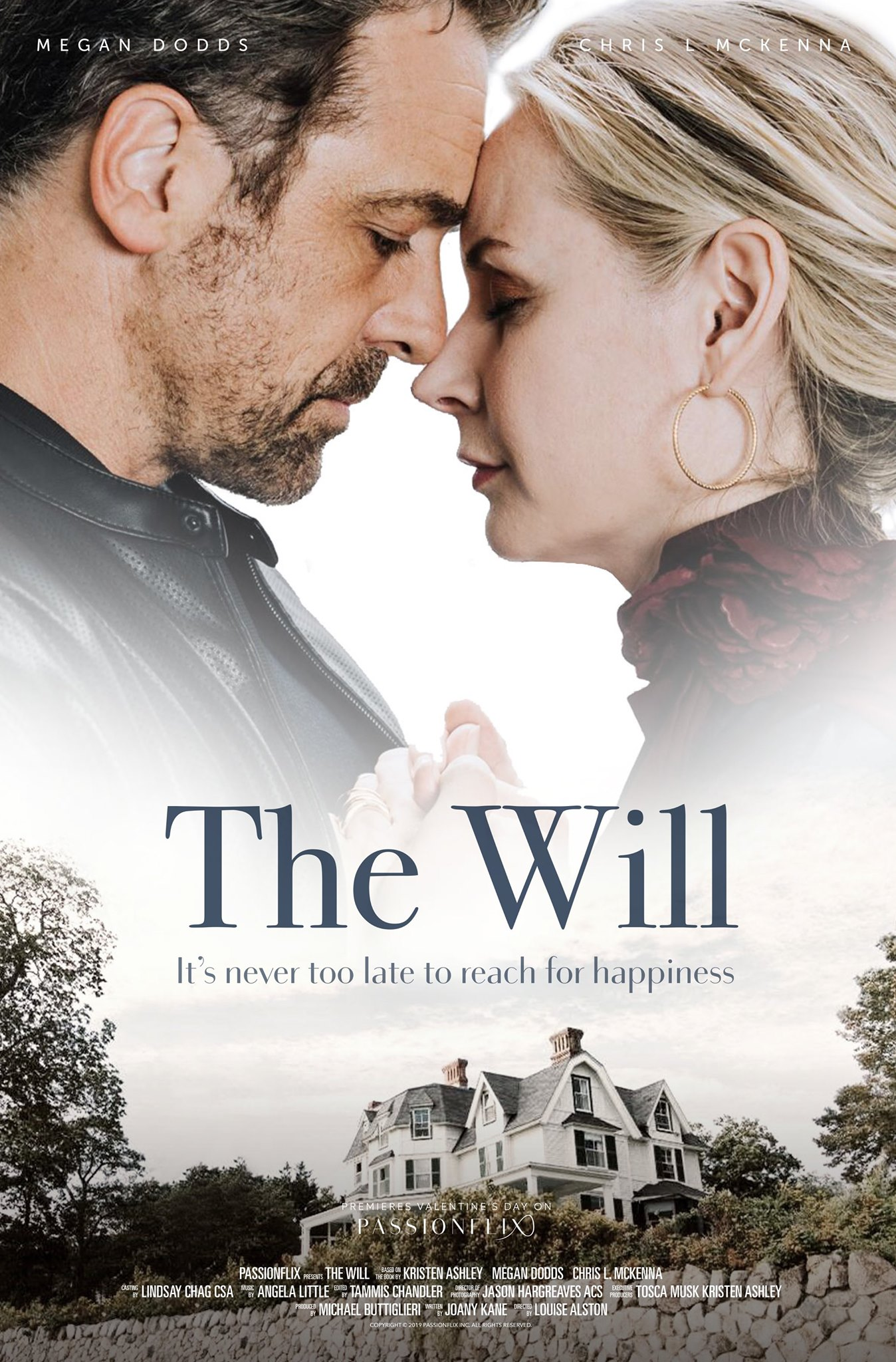 Megan Dodds and Chris McKenna in The Will (2020)