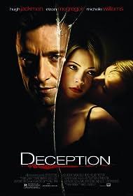 Ewan McGregor, Hugh Jackman, and Michelle Williams in Deception (2008)