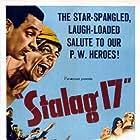 William Holden and Robert Strauss in Stalag 17 (1953)
