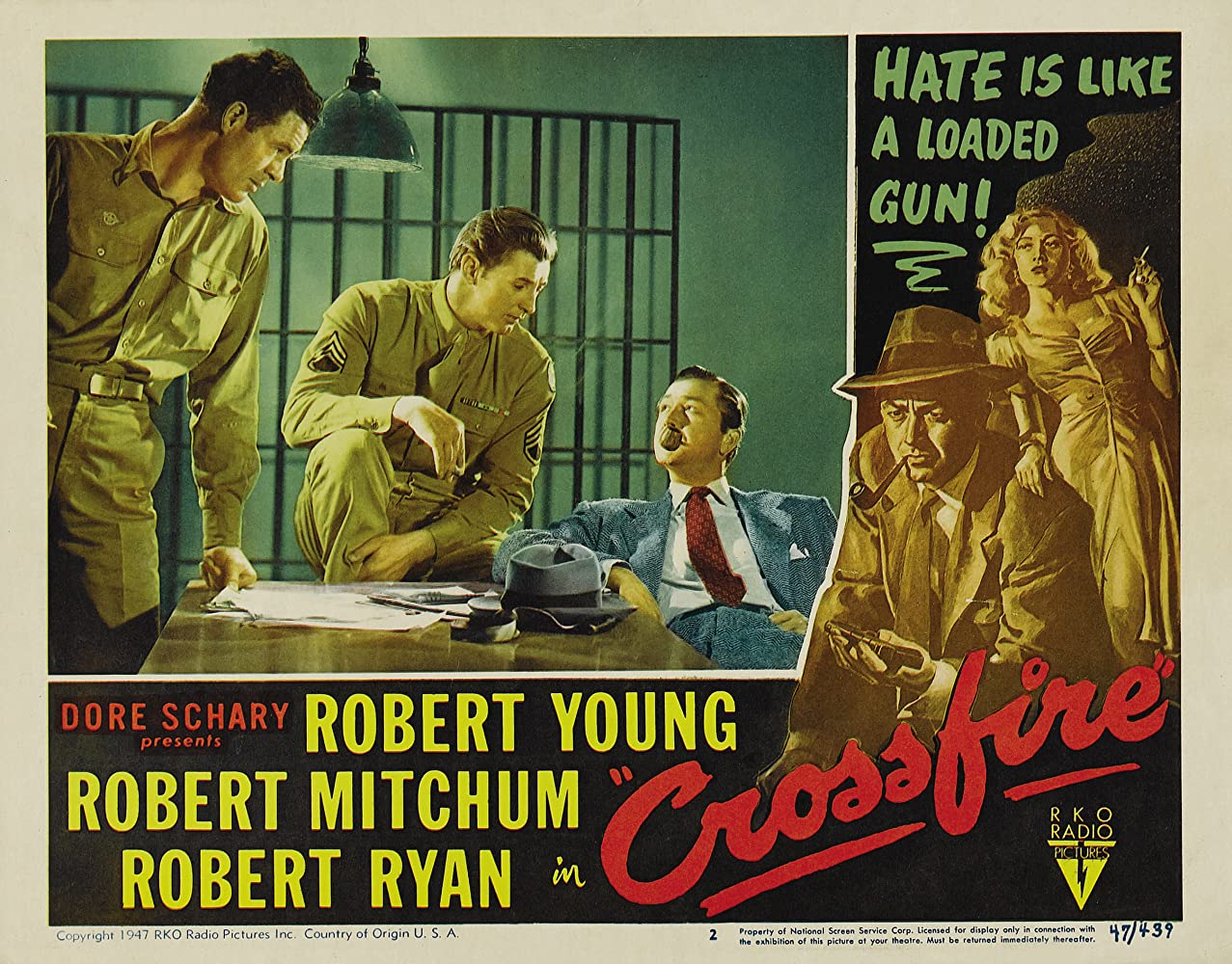 Image result for crossfire 1947