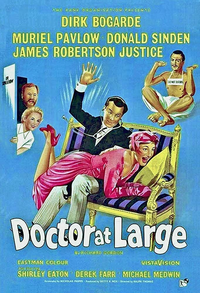 Doctor at Large 1957 Dual Audio Hindi 300MB DVDRip ESubs