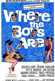 Where the Boys Are (1960) Poster - Movie Forum, Cast, Reviews