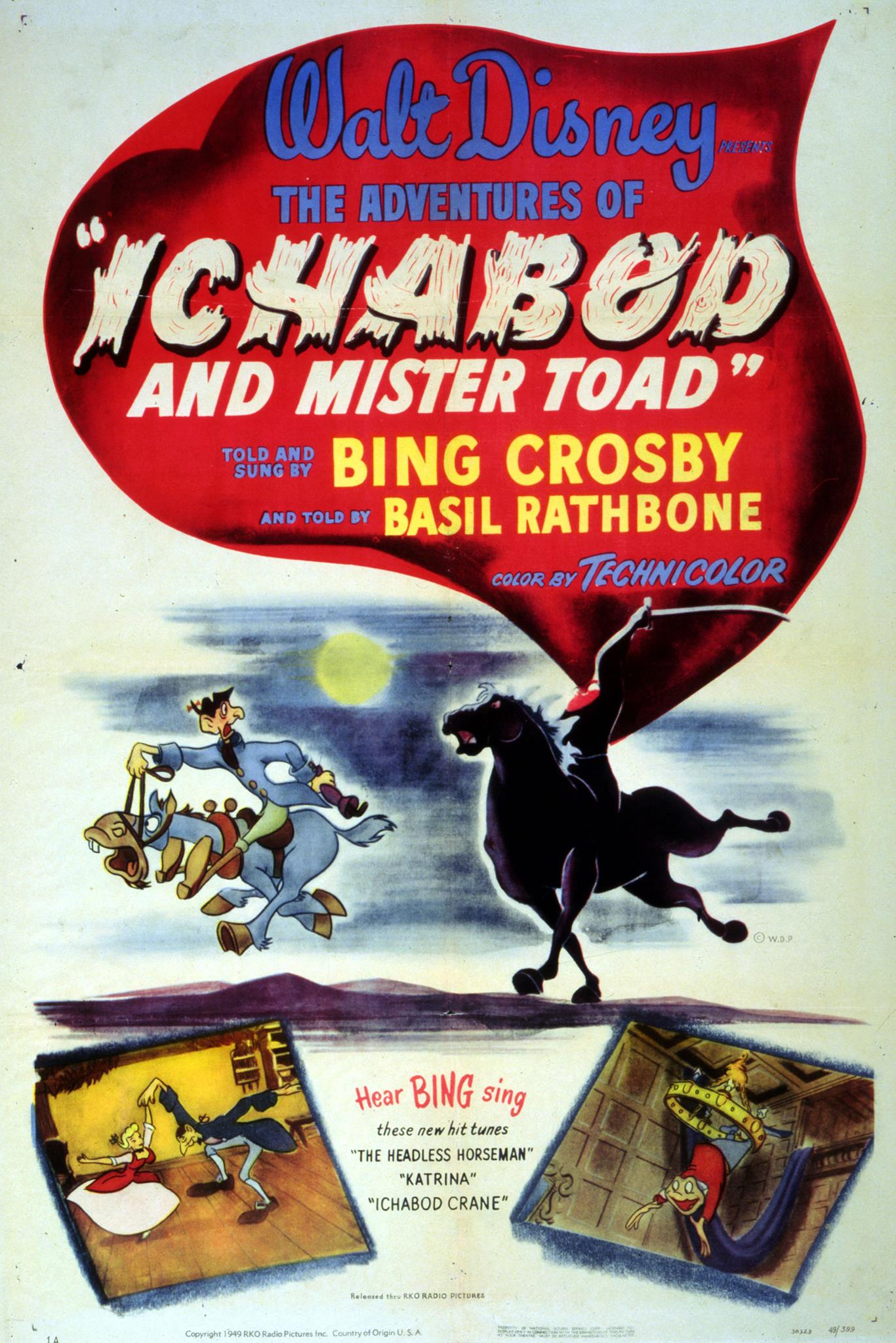 The Adventures of Ichabod and Mr  Toad (1949) - IMDb