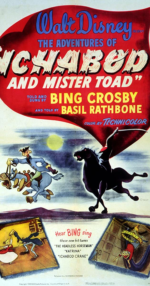 Subtitle of The Adventures of Ichabod and Mr. Toad
