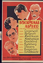 Flickornas Alfred(1935) Poster - Movie Forum, Cast, Reviews