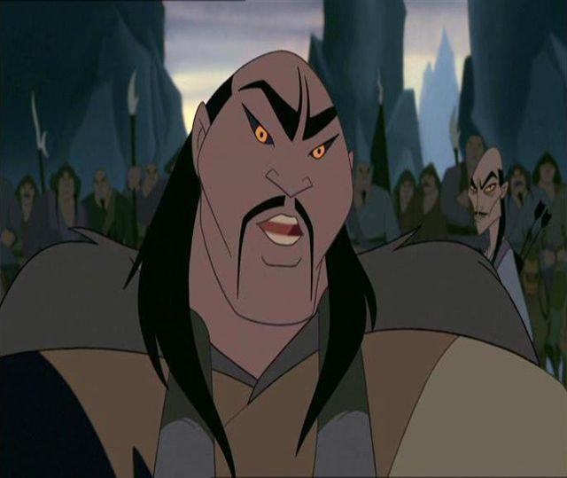 Miguel Ferrer in Mulan (1998)