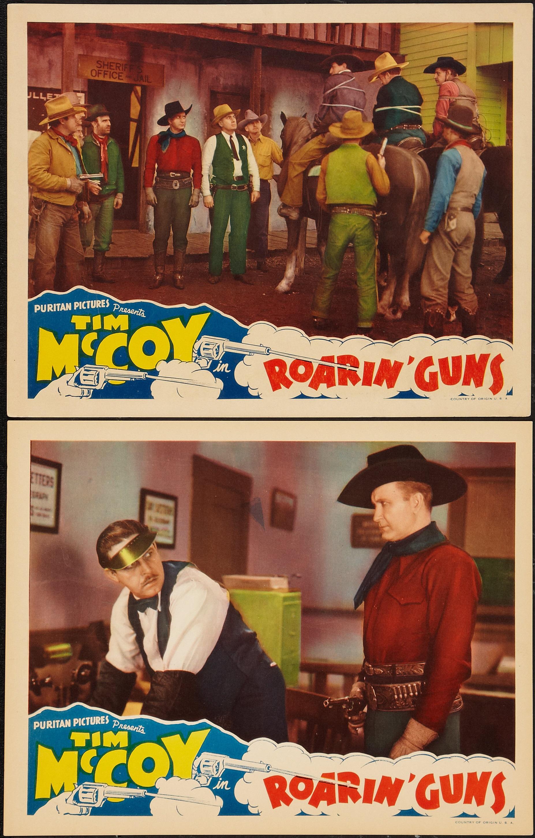 Tim McCoy in Roarin' Guns (1936)