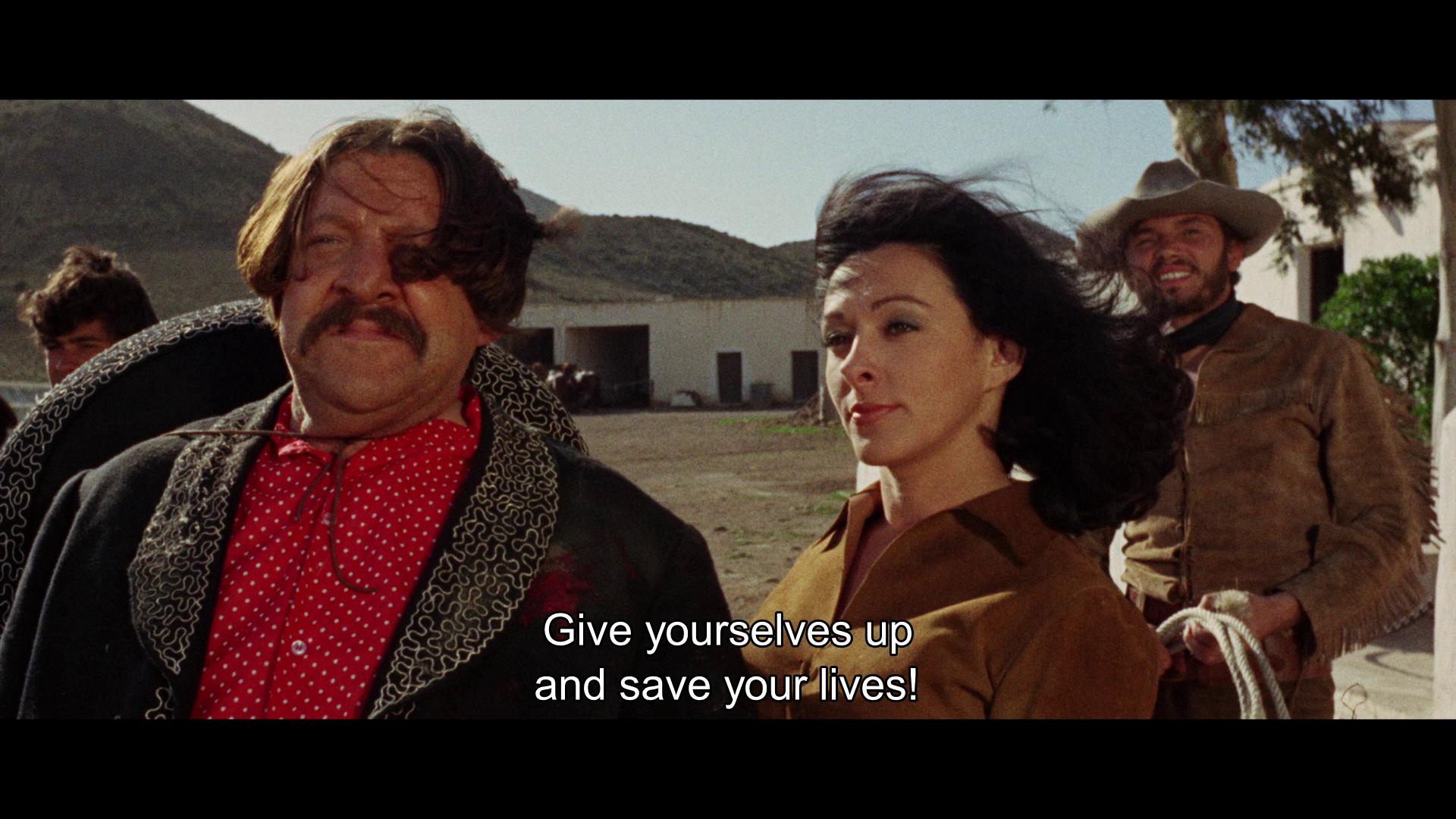 Nieves Navarro and Fernando Sancho in Una pistola per Ringo (1965)