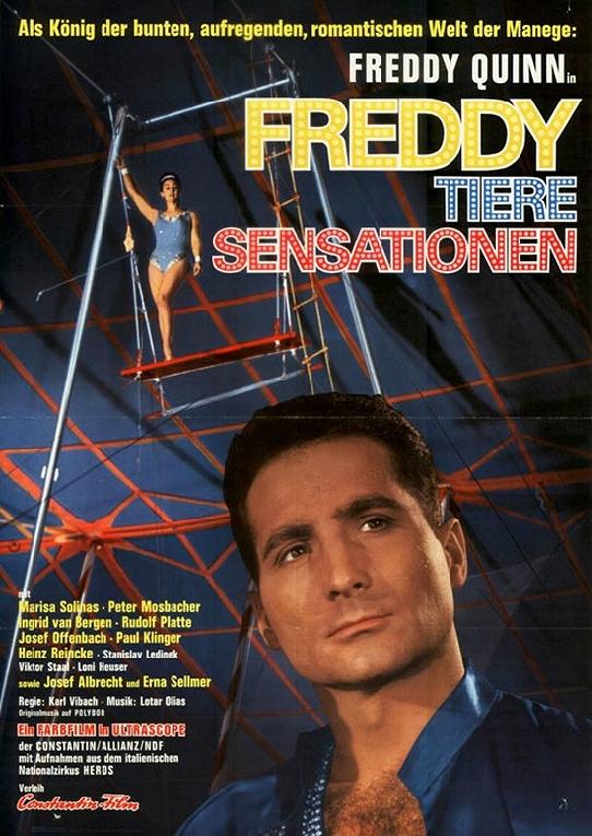 Freddy, Tiere, Sensationen (1964)