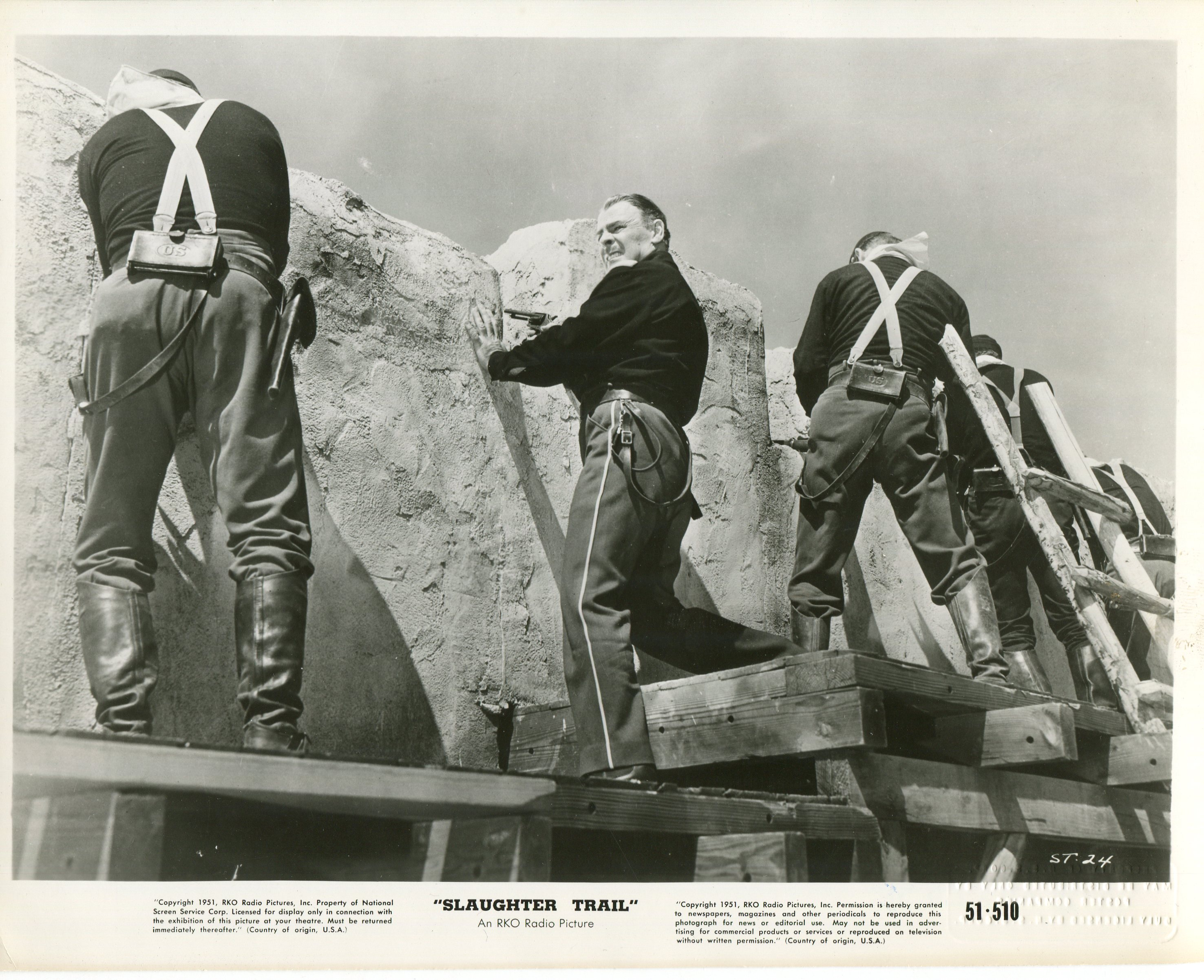 Brian Donlevy in Slaughter Trail (1951)
