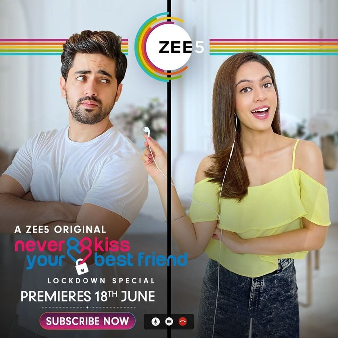 Never Kiss Your Best Friend Lockdown Special S01 2020 Zee5 Web Series Hindi WebRip All Episodes 30mb 480p 100mb 720p 200mb 1080p