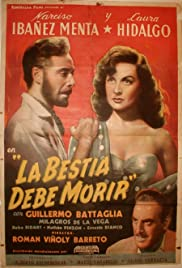 La bestia debe morir (1952) Poster - Movie Forum, Cast, Reviews
