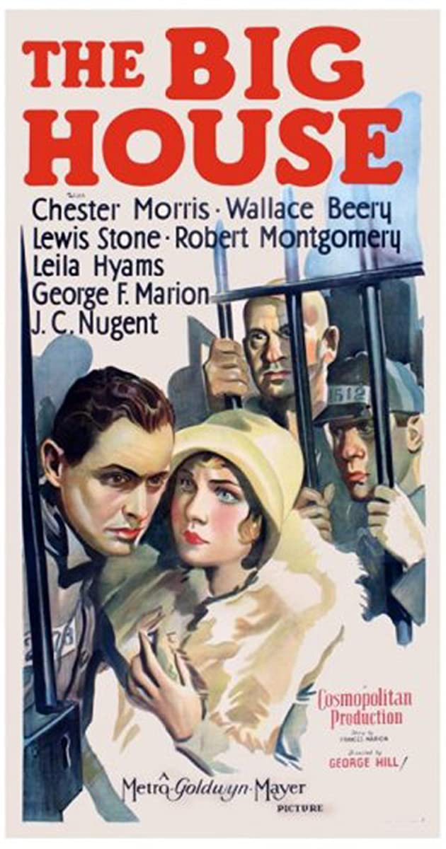 Min /& Bill Wallace Beery vintage movie poster print
