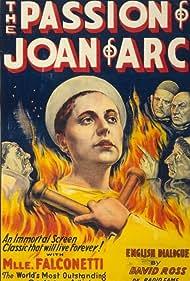 Maria Falconetti and Eugene Silvain in La passion de Jeanne d'Arc (1928)