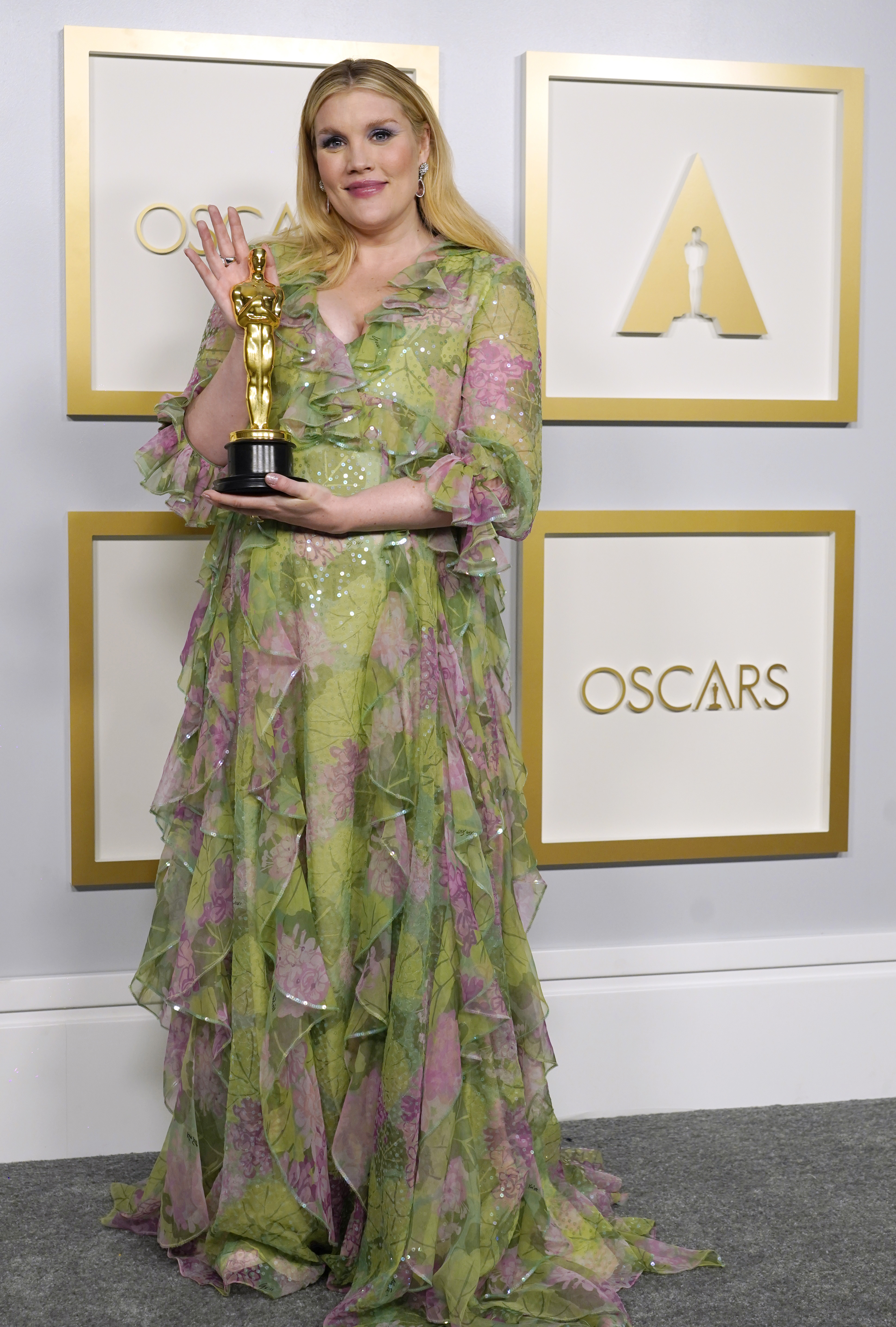 Emerald Fennell at an event for The 93rd Oscars (2021)