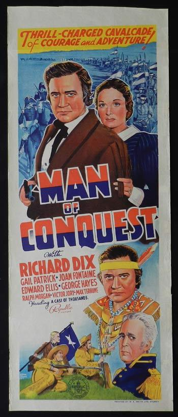 Robert Barrat, Richard Dix, and Edward Ellis in Man of Conquest (1939)