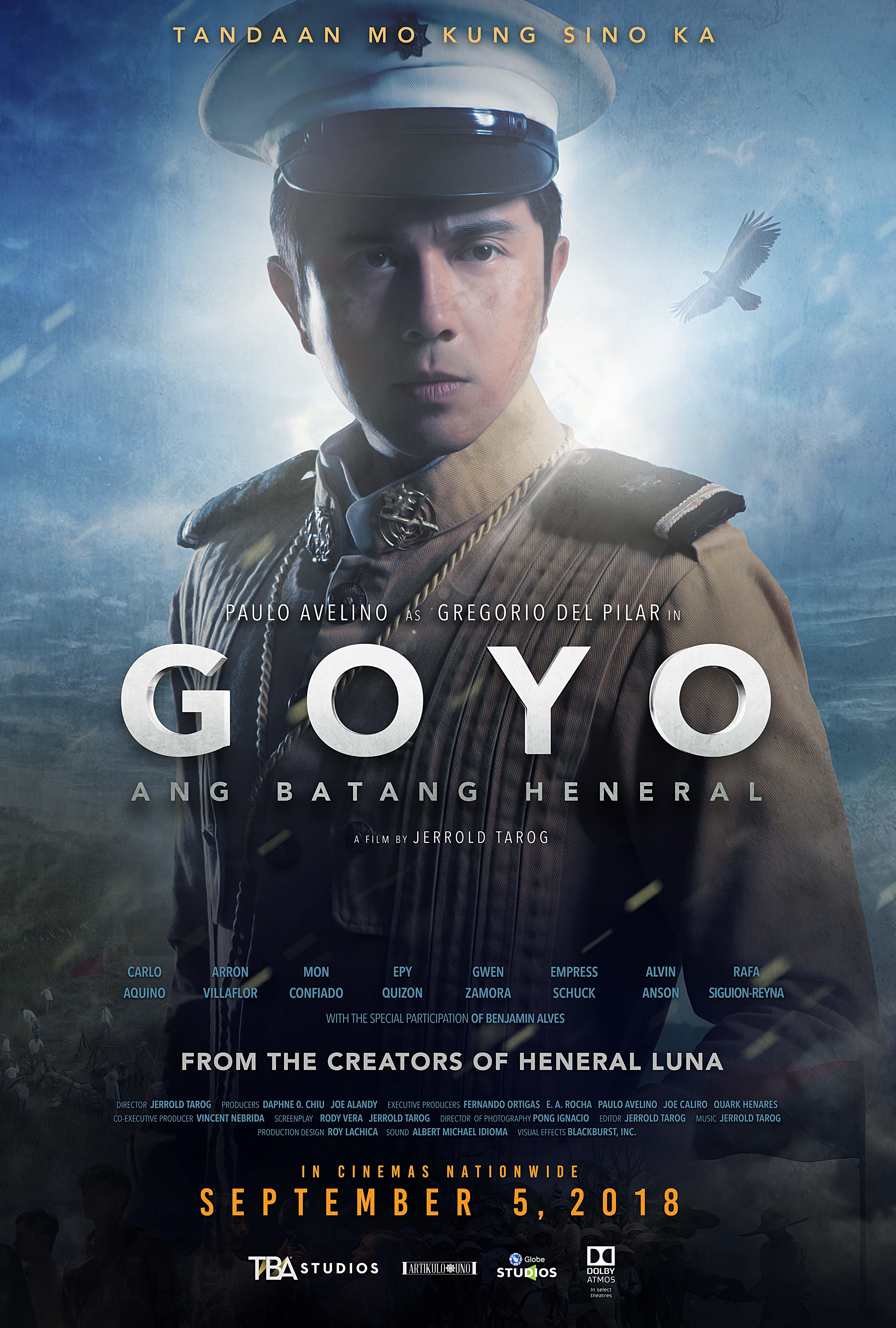 Paulo Avelino in Goyo: Ang batang heneral (2018)