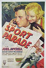 The Sport Parade (1932) Poster - Movie Forum, Cast, Reviews
