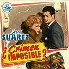 Nani Fernández and José Suárez in ¿Crimen imposible? (1954)