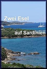 Zwei Esel auf Sardinien Poster