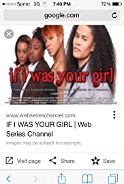 If I Was Your Girl Poster