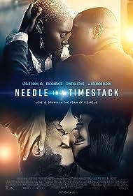 Orlando Bloom, Leslie Odom Jr., Freida Pinto, and Cynthia Erivo in Needle in a Timestack (2021)