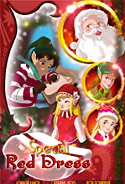 Elf Sparkle and the Special Red Dress Poster