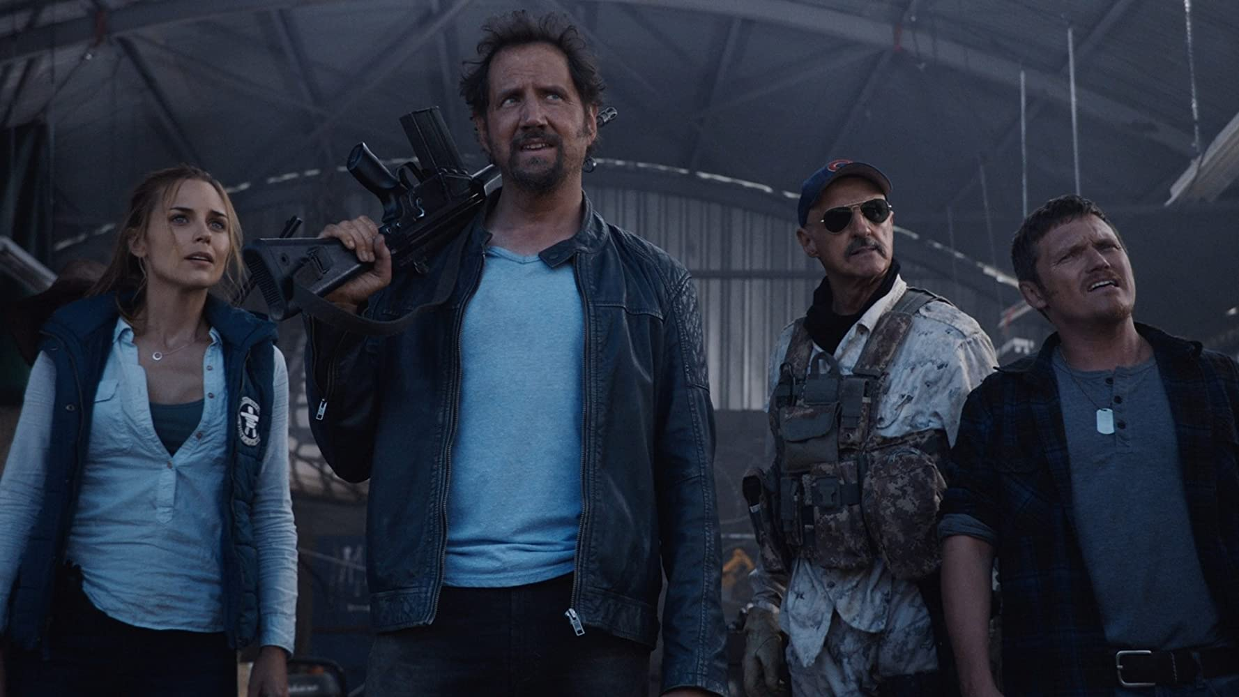 Jamie Kennedy and Michael Gross in Tremors: A Cold Day in Hell (2018)