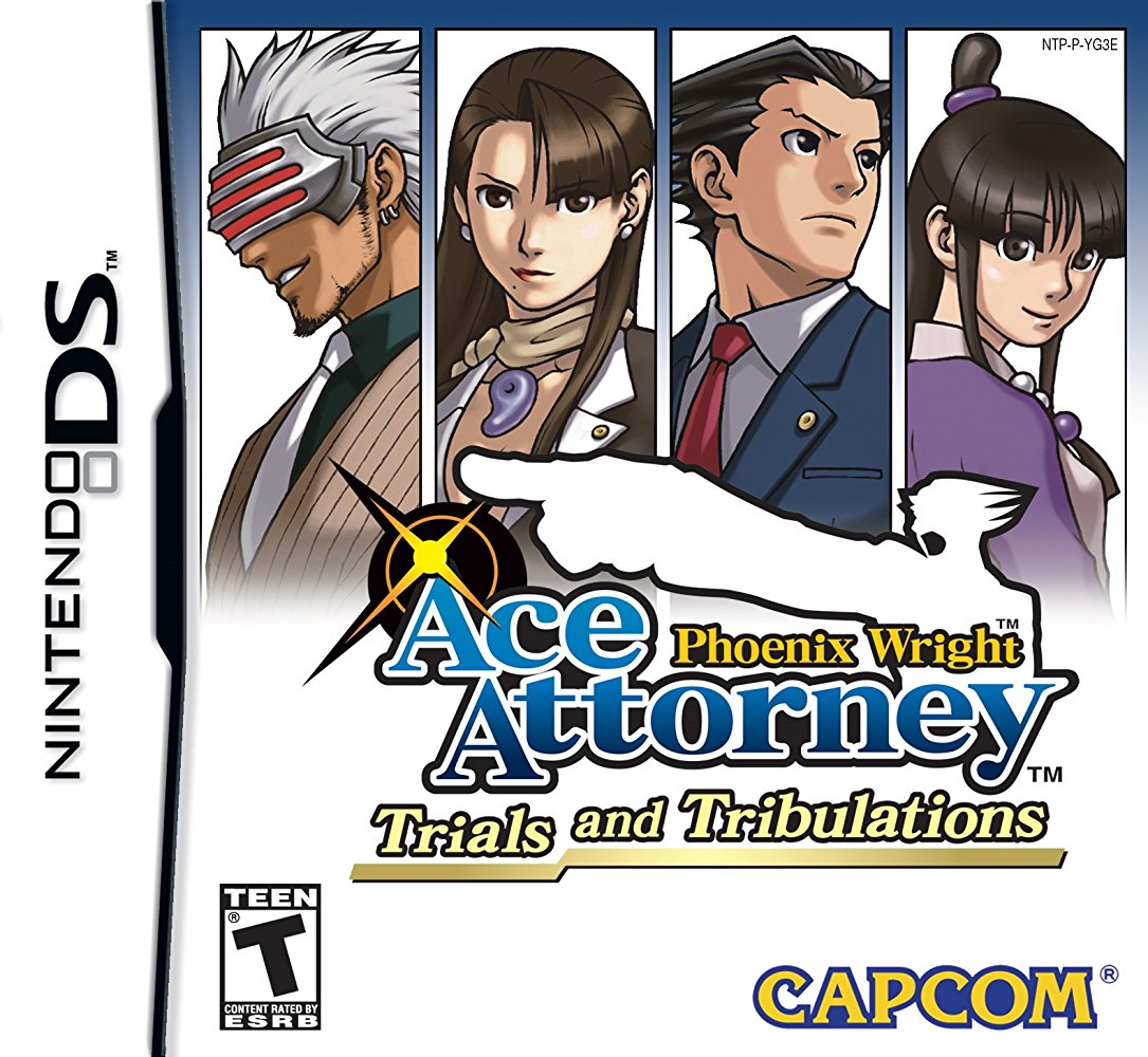 Phoenix Wright Ace Attorney Trials And Tribulations 2004