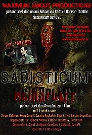 Sadisticum Poster
