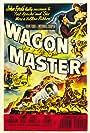 Joanne Dru and Ben Johnson in Wagon Master (1950)