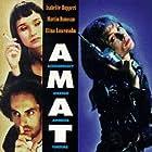 Isabelle Huppert, Martin Donovan, Elina Löwensohn, and Damian Young in Amateur (1994)