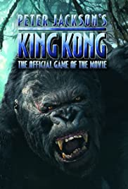King Kong: The Official Game of the Movie Poster