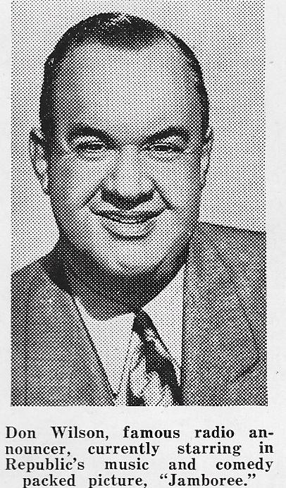 Don Wilson in Jamboree (1944)