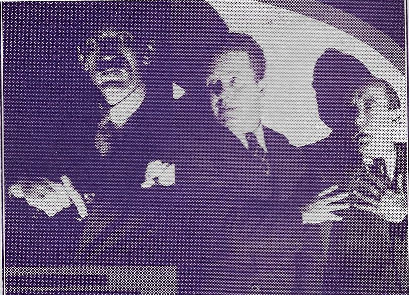 Gordon Griffith, 'Snub' Pollard, and Regis Toomey in Bars of Hate (1935)