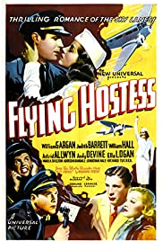 Flying Hostess Poster