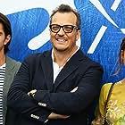 Gabriele Muccino, Matilda Anna Ingrid Lutz, and Joseph Haro at an event for L'estate addosso (2016)