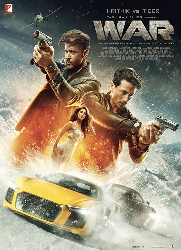 War (2019) Hindi Movie Official Trailer 720p HDRip Download