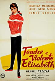Tendre et violente Elisabeth Poster