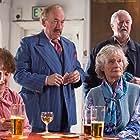 Simon Callow, Bernard Hill, Virginia McKenna, and Una Stubbs in Golden Years (2016)