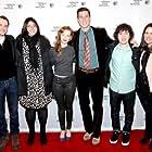Christopher Denham, Jen Dubin, Wrenn Schmidt, Pablo Schreiber, Nick Saso and Cora Olson at the world premiere of Preservation at the Tribeca Film Festival