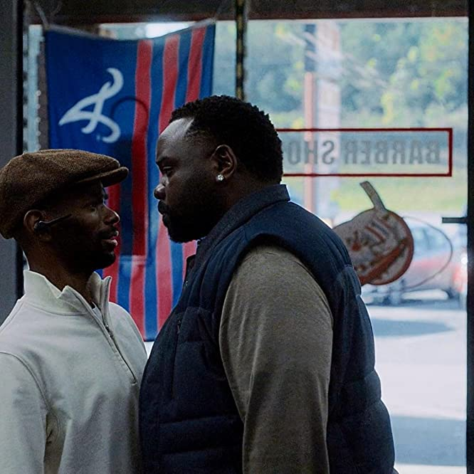 Brian Tyree Henry and Robert Powell in Atlanta (2016)