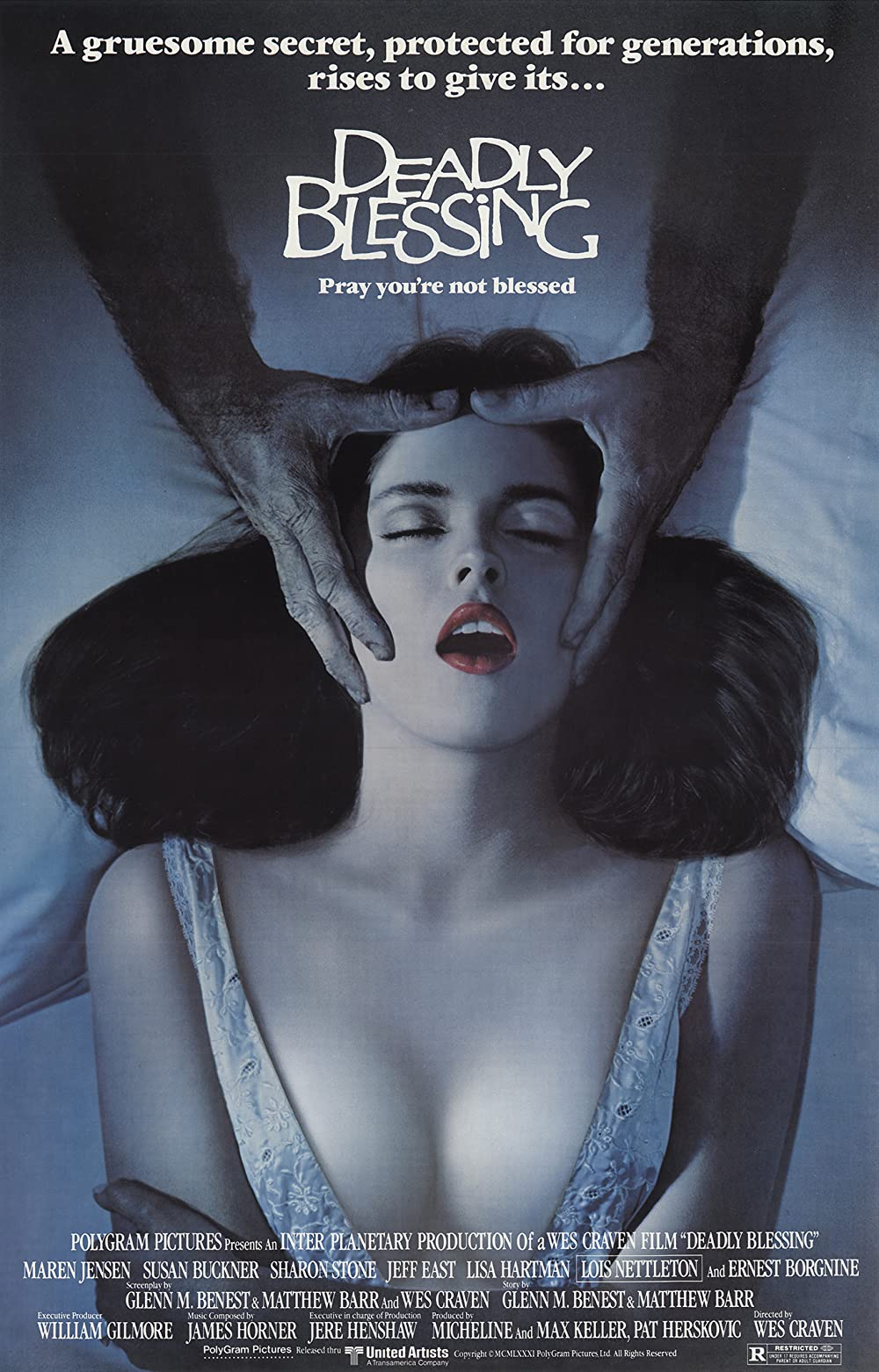 18+ Deadly Blessing 1981 English 300MB BluRay 480p Free Download